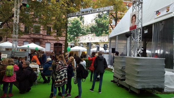 German Unity Day, Mainz: Premiere of ShUM Image Movie