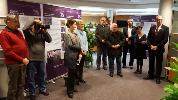 Opening of exhibition Wine and Judaism in Nierstein