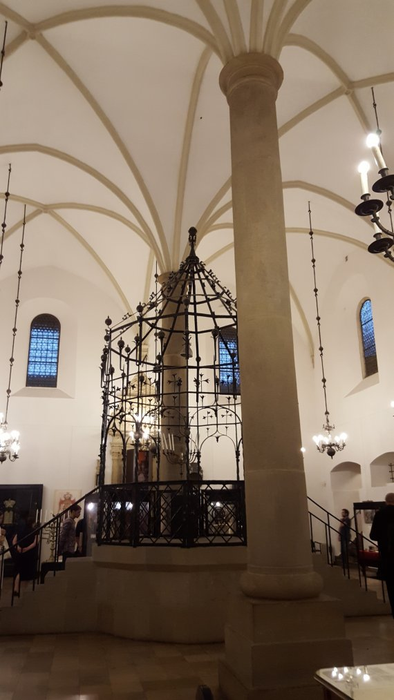 Old Synagogue Cracow: Worms as role model