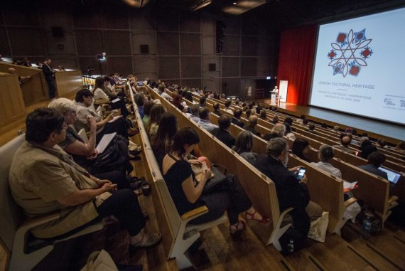 "Warsaw, Conference ""Jewish heritage"", Museum POLIN"