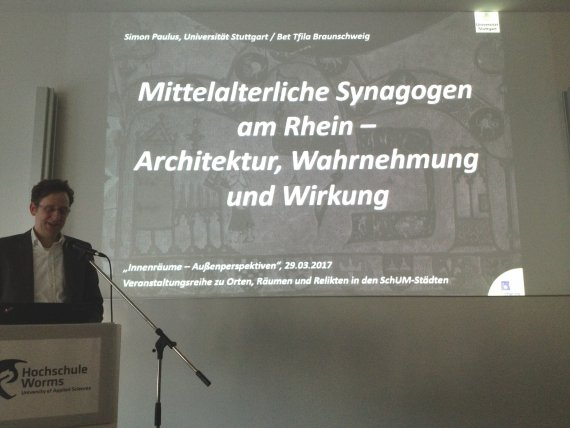 Dr. Ing. Simon Paulus Lecture, Worms 03/2017