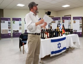 Jewish Cultural Days Mannheim Exhibition on Wine by ShUM