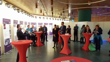 Exhibition Opening on Judaism and Wine, October 27, 2016, Mainz